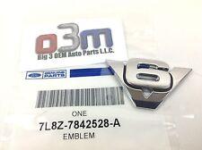 "Ford Escape Rear lift gate Chrome ""V6"" Nameplate Emblem OEM 7L8Z-7842528-A"