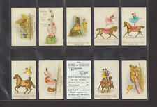 LUSBY LTD. - SET OF 25 SCENES FROM CIRCUS LIFE                           (REPRO)