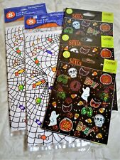 Halloween Treat Bags, Stickers, Party Favors, Holiday, Kids, Trick-or-Treat