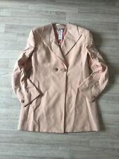 Versace Couture Coat Gianni Versace Ladies Tailor Made Jacket Silk IT42 UK10
