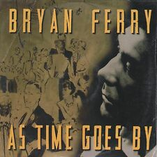 BRYAN FERRY AS TIME GOES BY CD SINGLE SPANISH PROMO CARPETA CARTON ROXY MUSIC