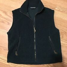 Men's Pure Outdoor Clothing Co. Sz Sm Shaggy Forest Green Vest