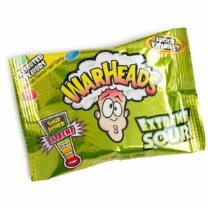 Warheads Extreme Sour Candy 12 ct