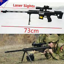 Police Toy Gun Battery Weapon Kids Sniper Rifle Barrett Boys Army Costume M98B