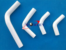 FOR Honda CRF250 CRF250X CRF250R 04-12 Silicone Radiator Hose WHITE