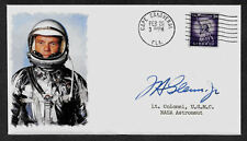 John Glenn Featured on Ltd Edition Collector's Envelope Repro. Autograph *A1041