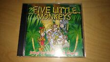 Kimbo Educational Five Little Monkeys CD 1999