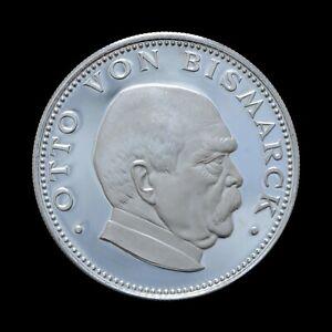 150 Guaranies 1974 Otto von Bismark, Paraguay Proof