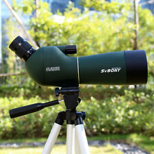 New SVBONY 20-60x60mm Angled Zoom Spotting Scope Waterproof Telescope+Tripod HOT