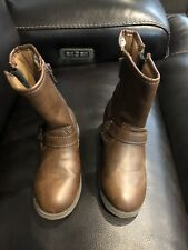 Carters Riding Boots Toddler Size 11 Great Condition