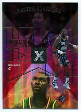 1997-98 SPx Hardcourt Holoview HAKEEM OLAJUWON Rare Non-Die Cut Blank Back SP