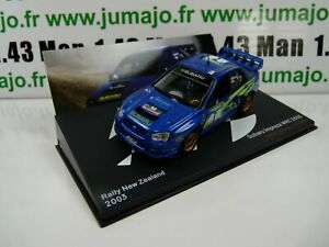 RLY1 Car 1/43 ixo altaya Rally Subaru Impreza WRC 2003 Solberg New Zealand
