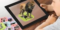 Augmented Reality Cards, Perfect Toy to Educate with 108 Cards With Storage Bag