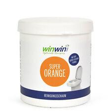winwinCLEAN SUPER ORANGE WC-/REINIGUNGSSCHAUM 1KG / proWIN ACTIVE ORANGE Tester