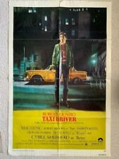 Taxi Driver Vintage 27x41 Color Movie Poster From 1976 Rare Robert Deniro