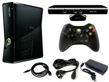 Microsoft Xbox 360 250GB Console Bundle Kinect Controller Cords Kinect Adventure