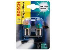 2 Pz Coppia Bosch Lampadine Magic 15m PY21W 12V 21W Ricambi Illuminazione Auto