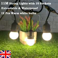 3 x Imperméable 20 m Feston G45 DEL String Lights fête de Noël Jardin Decor UK