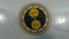 DUTCH CLOCK PART SMALL MOON DISC FOR FRIESIAN TAIL CLOCK