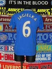 5/5 Everton adults S 2009 #6 Jagielka football shirt jersey trikot soccer