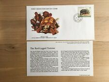 ST VINCENT GRENADINES 1979 FDC WWF 130 RED-LEGGED TORTOISE