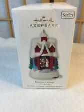 2010 Hallmark Keepsake Ornament Kissmas Cottage #1 Kringleville Santa Mrs Claus