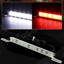 1 x White/Red 6000K 18-LED Car License Plate Light Backup Brake Lamp Universal 4