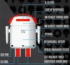 Bero Betherobot Bluetooth Controlled iPod iPhone iPad Android USB Port LED Eyes