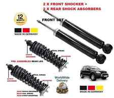 Per MERCEDES ML500 2001 - > 2x FRONTE + 2x REAR SHOCK ABSORBER + POSTERIORE MOLLE A SPIRALE