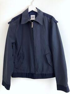 Moschino Mens Navy Blue Lightweight Spring Jacket Size I 52 UK 42