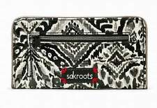"""NWT Sakroots Slim Wallet Jet Brave Beauti Coated New 6.5""""x3.5"""" SHP IN'TL"""