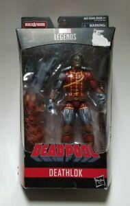 2017 Hasbro Deadpool Marvel Legends Series Deathlok Action Figure(BAF Sasquatch)