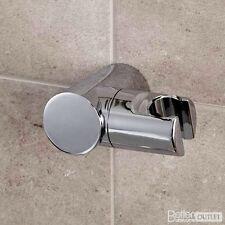 Shower Head Holder Replacement Bracket Bathroom Wall Mounted Hand Hose Chrome