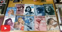 Nude female pin-up magazine 1950-52 Art Photography lot of 10 issues complete