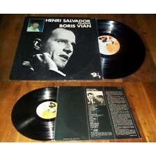 HENRI SALVADOR - Chante Boris Vian French ORG LP Barclay BIEM Jazz Bossa 70' NM
