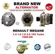 PER RENAULT MEGANE 1.4 1.6 1.8 2.0 16V Turbo Dal 1998 IN POI NUOVO Alternatore