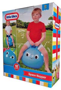 Little Tikes Toy Space Hopper Child Fun Kangaroo Sprungball Blue