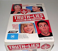 Truth or Lies Nintendo Wii PAL *Complete* With Microphone