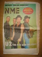 NME 1988 OCT 22 U2 YOKO ONO TOM WAITS ROBERT CRAY RAKIM