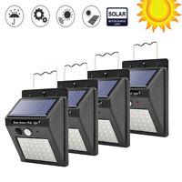 30LED Solar Power Motion Sensor Wall Lamp Outdoor Waterproof Yard Security Light