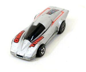 Hot Wheels Crack Up Turbo Mattel 1984 Hong Kong Toy Car Vintage Diecast H557