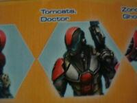 Infinity Tomcats Doctor Nomads metal new
