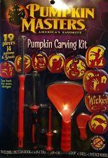 Pumpkin Masters America's Favorite Pumpkin Carving Kit 14 Patterns & 5 Tools