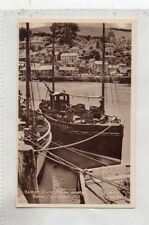 """""""""""POSTCARD WEST SIDE FROM QUAY,LOOE,CORNWALL"""""""""""