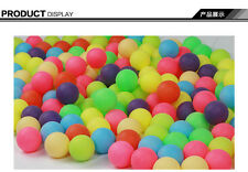 Entertainment Ping Pong Ball Colorful Table Tennis ball  100pcs/bag