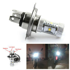 Motorcycle High Power H4 30W 6000K 6 LED White Bulb High Low Beam Headlight 12V