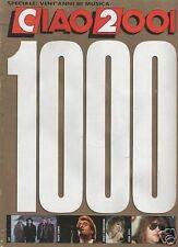 CIAO 2001 n.1000 48/1988 U2 bon jovi huey lewis angelo branduardi ozzy osbourne