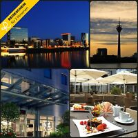 3 Tage 2P Düsseldorf 4★ Secret Hotel Kurzurlaub Wochenende Urlaub Städtereise