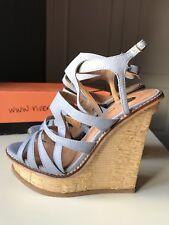 RIVER ISLAND Designer Ladies High Heel Sandal Shoe Platform Wedge Size 4 37