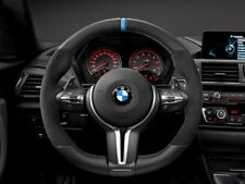 Genuine BMW M Performance Carbon/Alcantara Flat Bottom Steering Wheel M2/M3/M4